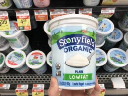 Stonyfield Organic Yogurt 32oz Just $0.88 at Acme! 4 Days Only! {Ibotta}