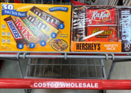 Costco: Sweet Deal on Hershey's and Mars Full Size Variety Packs