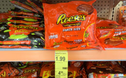 Halloween Deal - Reese's Snack Size Bags Just $1.49 at Walgreens!