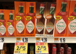 Tabasco Sauces as low as $1.35 at Stop & Shop