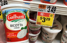Galbani Ricotta or Mozzarella Cheese only $1.50 at Stop & Shop {11/15}