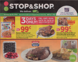 Stop & Shop Preview Ad for 10/25 Is Here!