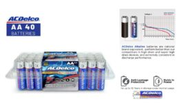 33% Off ACDelco AA Super Alkaline Batteries In Recloseable Package, 40 Count