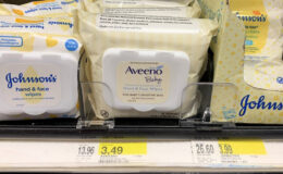 Aveeno Baby Hand & Face Wipes Just $1.49 at Target!