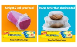 20% Off + 20% Off Coupon - Glad Press'n Seal Plastic Food Wrap Square Foot Roll -100 Sq. Ft (Pack of 3)