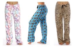Just Love Women's Plush Pajama Pants $9.99 at Walmart! (reg.$29.99)