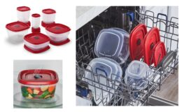 Rubbermaid Easy Find Vented Lids Food Storage Containers, 40-Piece Set $9.98 at Walmart! (reg.$24.99)