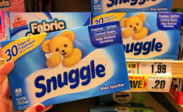 FREE Snuggle Dryer Sheets  at ShopRite!