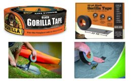 "60% Off Gorilla Tape, Black Duct Tape, 1.88"" x 35 yd, Black, (Pack of 1) {Amazon}"