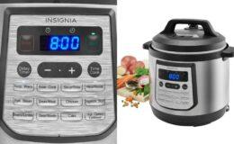 Insignia Multi-function 8-Quart Pressure Cooker $39.99 (Reg. $119.99)