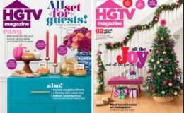 HGTV Magazine 1 Year Subscription for only $12.45