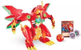 Bakugan Dragonoid Maximus Transforming Action Figure $21.37 (Reg. $44.99) + More!