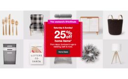 25% Off Bed and Bath, Furniture, Home Decor, Rugs & More at Target