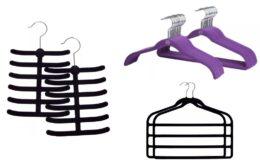 Extra 40% Off Joy Mangano Huggable Hangers As Low As $.40/Hanger
