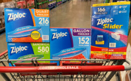 Costco:  Hot Deal on Ziploc Storage and Freezer Bags - 4 Different Offers