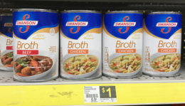 Swanson Broth Just $0.40 at Dollar General! {No Coupon Needed!}
