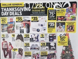 Dollar General Black Friday Ad 2019 - Dollar General Deals, Hours & More