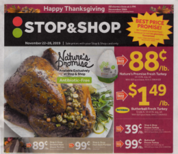 Stop & Shop Preview Ad for 11/22 Is Here!