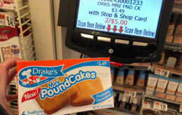 Drakes Mini Pound Cakes just $1.50 at Stop & Shop