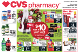 Insider Preview of the Best Deals at CVS starting 11/24