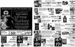 ShopRite Preview Ad for the week of 11/24/19