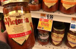 Victoria Pasta Sauces only $2.99 at Stop & Shop