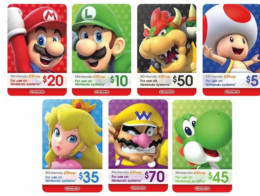 Rite Aid Shoppers - Save Up To $6 on Nintendo Gift Cards!
