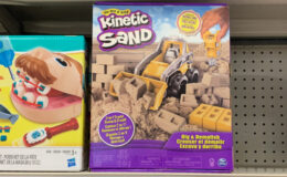 Target Kids Daily Deal Circle Offer - Save 30% off Kinetic Sand Activity Kits {Today Only}