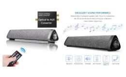 Extra 50% off HONEST KIN Bluetooth Sound Bar {Amazon}