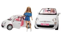 Kohl's Black Friday Early Access - Mattel Barbie Fiat Set $19.99 (Reg. $37.99)