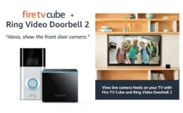 31% Off All-new Fire TV Cube bundle with Ring Video Doorbell 2