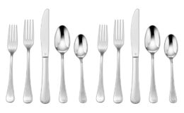 81% off Cuisinart 20 Pc. Flatware Set - Trevoux at WOOT!