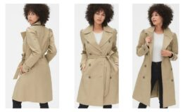 40% off + Extra 10% off Outerwear at The GAP - Puff Sleeve Trench Coat $35.09 (Reg.$128)