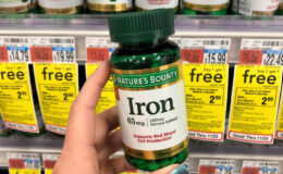 Up to 2 FREE Nature's Bounty Iron 100 Ct. at CVS!