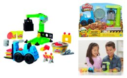 Play-Doh Wheels Crane & Forklift Set with 3 Cans of Dough $3.50 (Reg. $9.97)