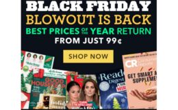 Black Friday Blowout Magazine Sale Is Back - 400+ Titles to Choose From