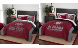 Up to 60% Off NCAA Comforter Sets, Gear, & More!