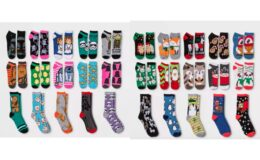 15 Days of Socks at Target just $10.50 Marvel, Star Wars, Frozen, and More!