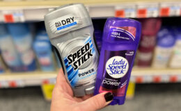 Up to 2 FREE Speed Stick or Lady Speed Stick Deodorants at CVS! {Starting 7/5}