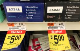 RXBAR Protein Bars $0.92 at Acme! {Ibotta}