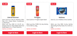 Over $40 New ShopRite  Digital Super Coupons  - Save on Arm & Hammer, Ocean Spray, Oreo & More