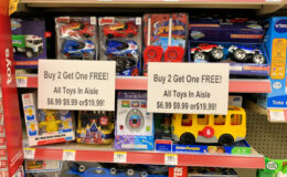 Walgreens B2G2 Toy Sale – Fisher-Price, Hot Wheels, Mr. Potato Head & More as low as $2.66!