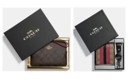 Coach Outlet - 70% off + Extra 20% off Boxed Gifts + FREE Shipping on ALL orders!