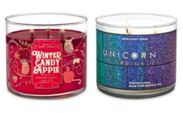 All 3-Wick Candles $9.50 (Reg.$24.50) at Bath & Body Works!