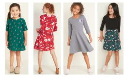 Today Only at Old Navy: Girl's Dresses $8 Women's dresses $10 (Reg.$19.99, 29.99)