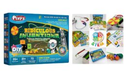 51% Off Playz Ridiculous Inventions Science Kits for Kids {Amazon}