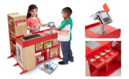 Stacking Deal! Melissa & Doug Deluxe Play Store Set $100.93 at Target! (Reg.$179.99)
