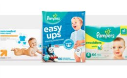 Hot Target Baby Deal! Spend $50 Get $10 Gift Card on Diapers & Wipes