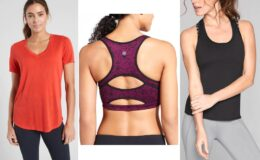 Up to 70% Off Athleta Clearance Sale: Tees & Tank Tops from $7, Bras from $8, & More