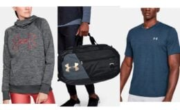 Under Armour Outlet: Extra 20% Off $50+ Men's UA Velocity V-Neck $8.79
